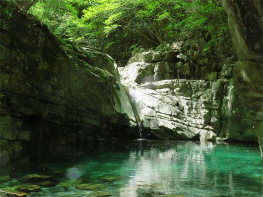 双門ルート釜滝