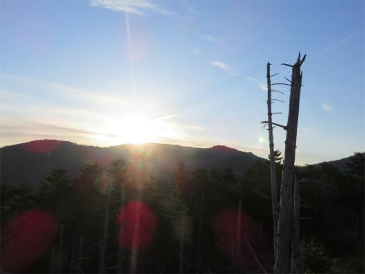 八経ヶ岳・弥山の夜明け