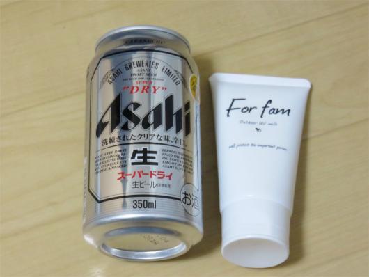 For Fam大きさ缶と比較