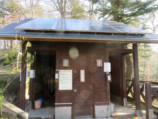 稲村小屋のトイレ