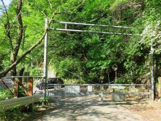塩水橋のゲート