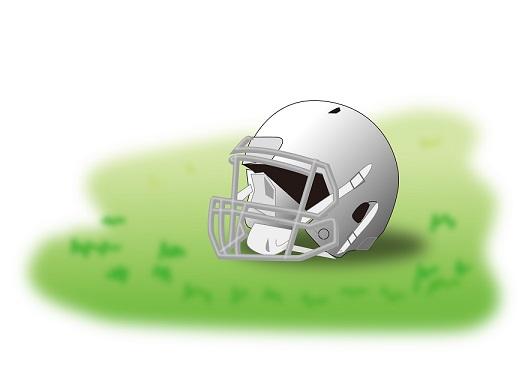 アメリカンフットボールヘルメット