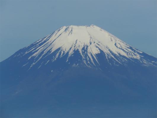 アップの富士山