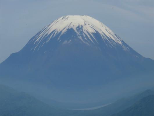 モッコリな富士山