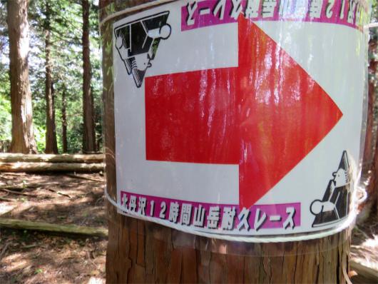 丹沢山岳耐久レース看板