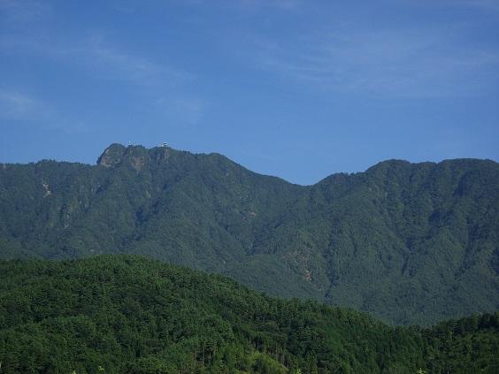 三つ峠山屏風岩