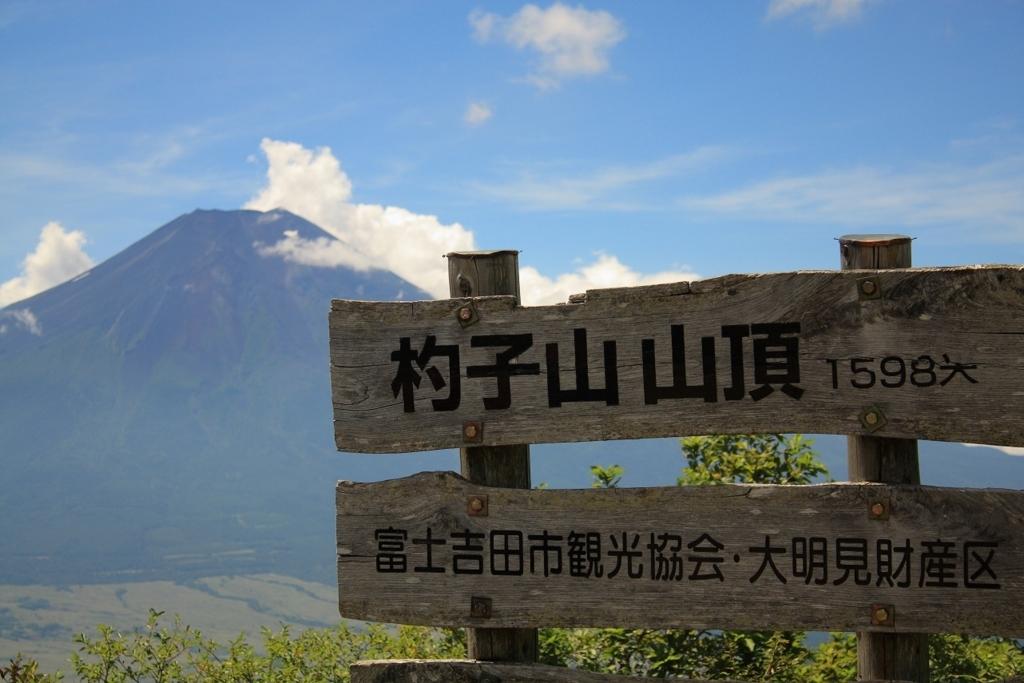 富士山の絶景