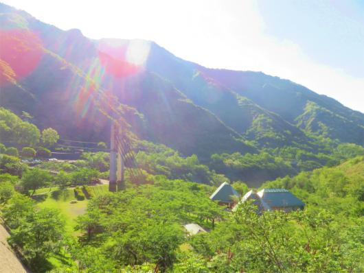 足尾銅親水公園全景