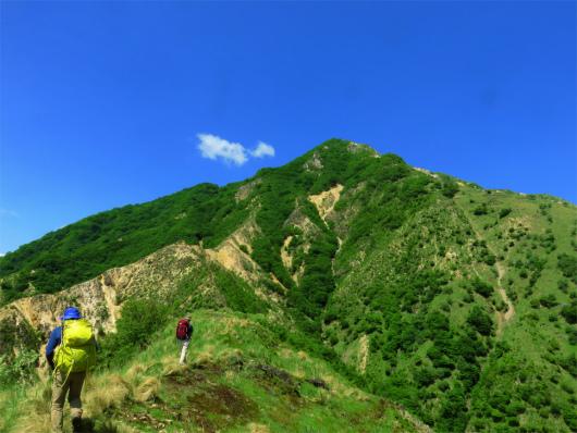中倉山至福の稜線歩き