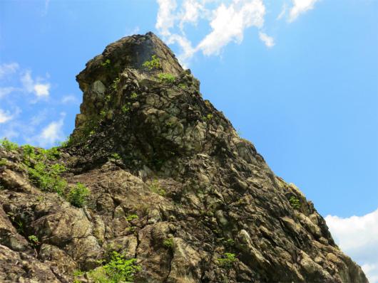 ローソク岩大きい