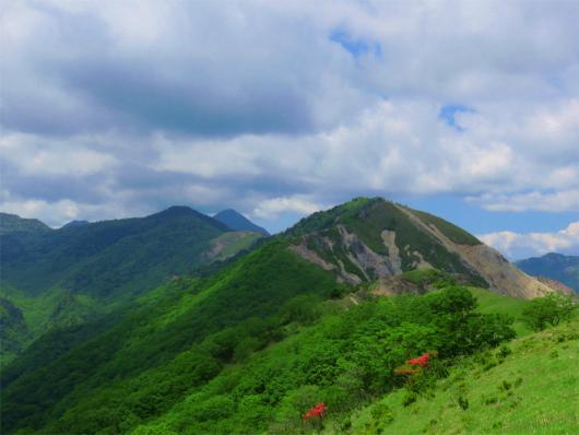 皇海山庚申山方面