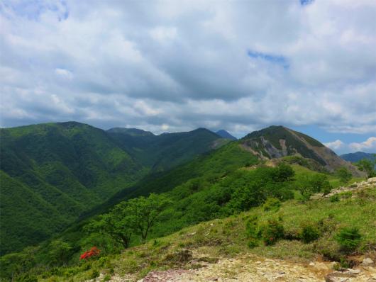 皇海山・庚申山景色
