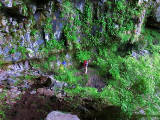 洞窟チックな場所