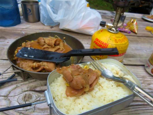 山飯肉料理