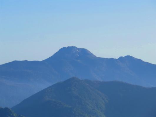 庚申山付近から日光白根山