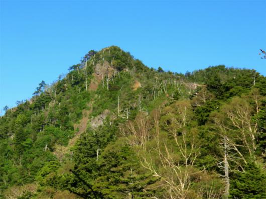 薬師岳から鋸山