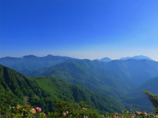 皇海山と日光の山