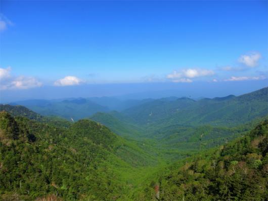 鋸山の山頂からの景色