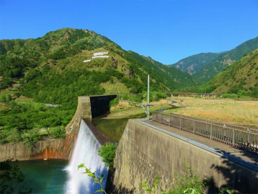足尾ダム(銅親水公園)周辺