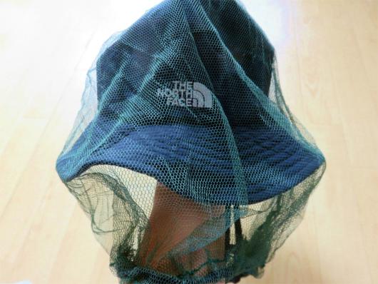 防虫ネット帽子とセット