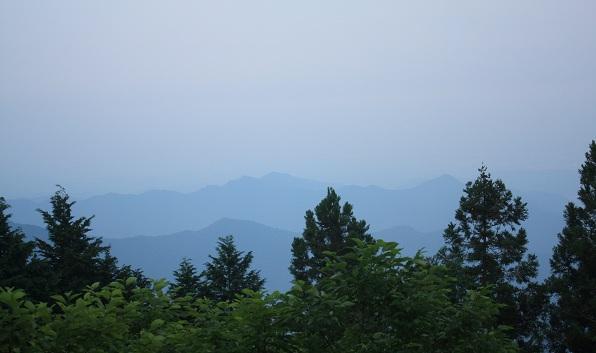 本仁田山の頂上