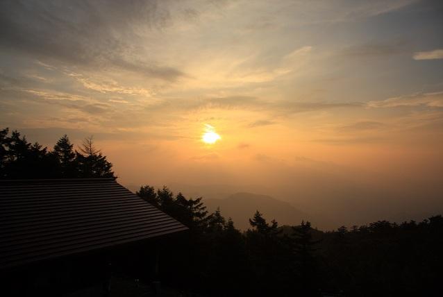雲取山日の出