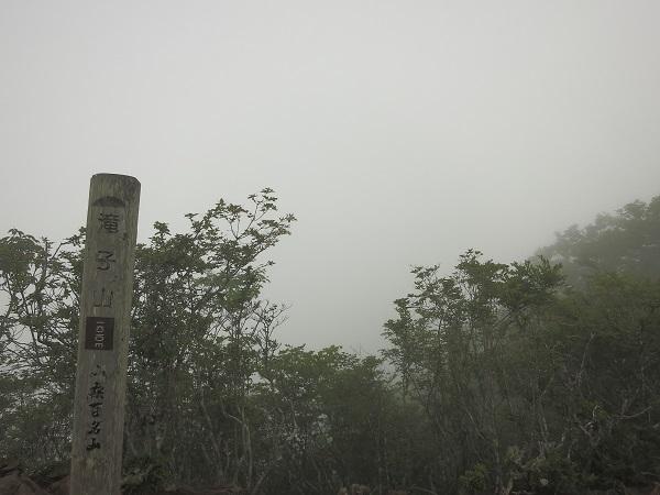 滝子山ガスガス