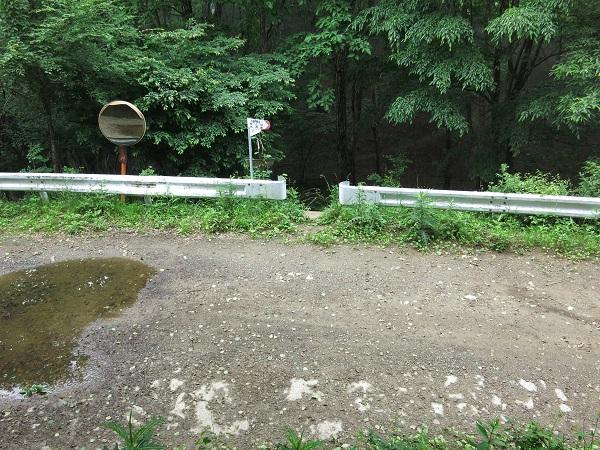 姥子山ルート入口