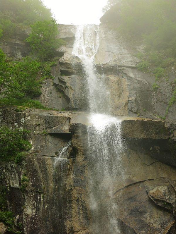 五色滝滝壺