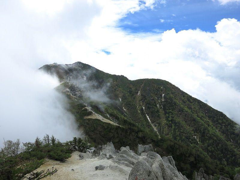 観音岳景色