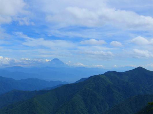 富士山黒金山