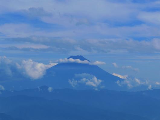 富士山のシルエットn