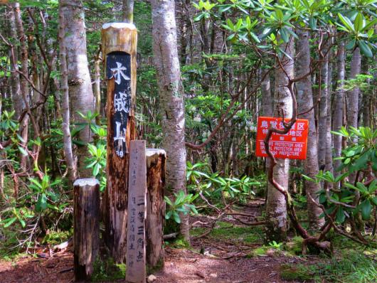 木賊山(標高2,468.6m)