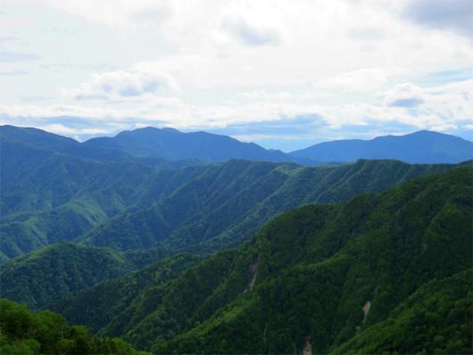 金峰山と五丈石