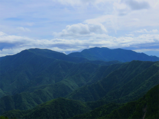 国師ヶ岳金峰山