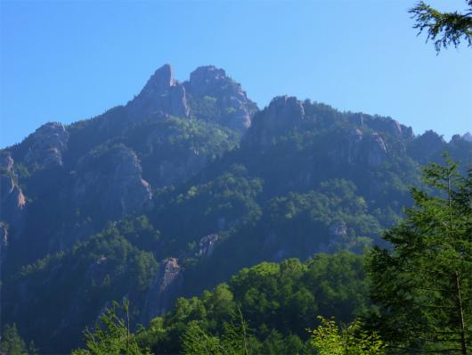 瑞牆山が綺麗