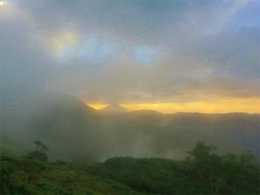 上河内岳まで素晴らしい天空縦走路