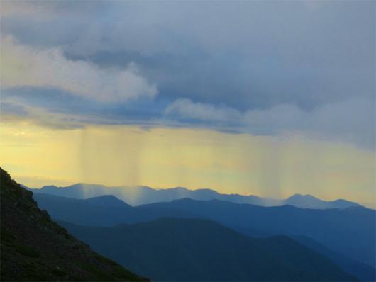 珍しい雲の帯n