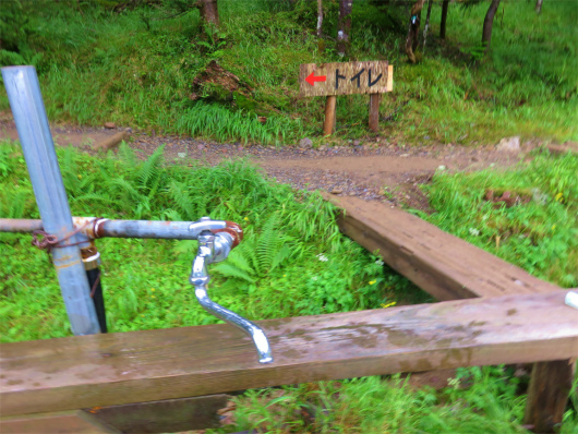聖平小屋水場