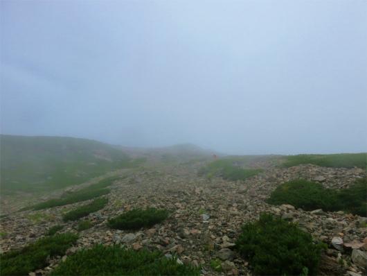 聖岳の登り