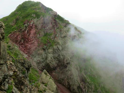 聖岳~兎岳周辺