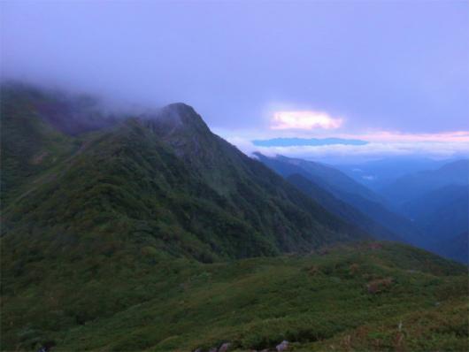 赤石岳登山開始