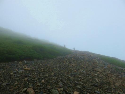 百間平登山道