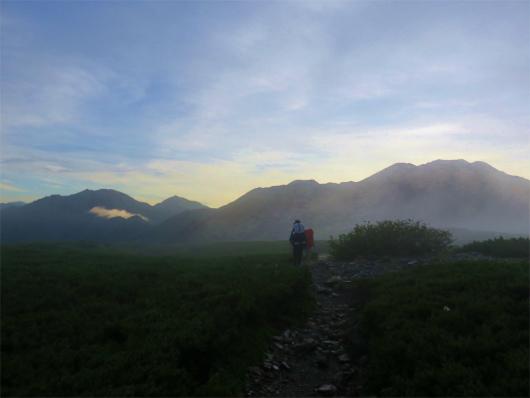 右赤石岳左荒川岳