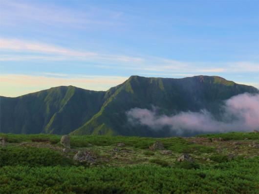 南アルプス聖岳