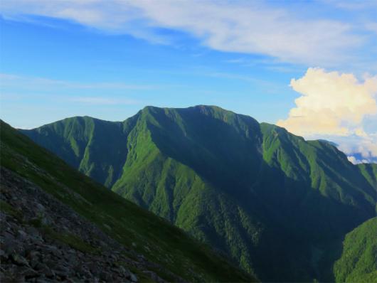 聖岳が美し過ぎて