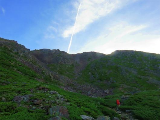 赤石岳の凶悪な登り