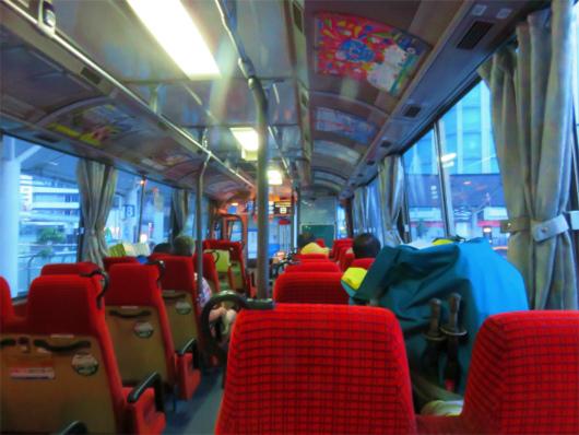 高速バス座席