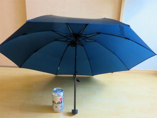 アウトドア用傘大きさ比較