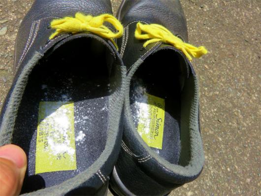 臭い安全靴